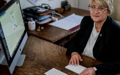 Egy nő – a cég élén